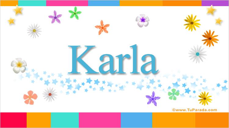 Karla, imagen de Karla