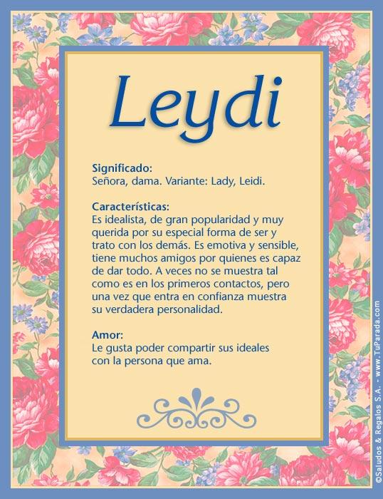 Leydi, imagen de Leydi