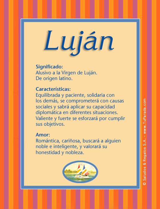 Luján, imagen de Luján