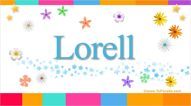 Lorell, imagen de Lorell