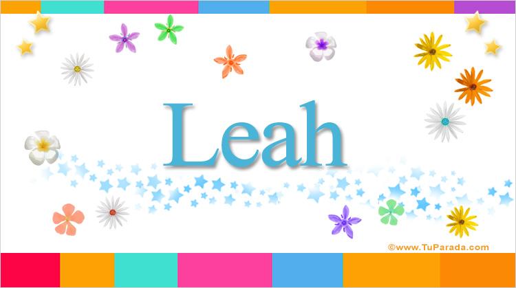 Leah, imagen de Leah
