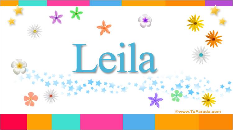 Leila, imagen de Leila