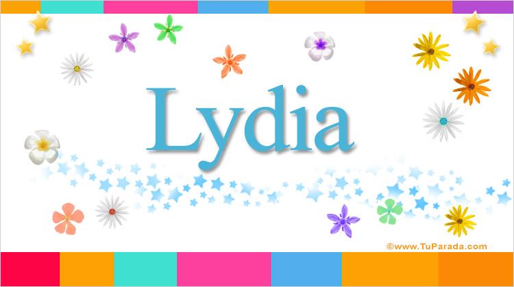 Lydia, imagen de Lydia