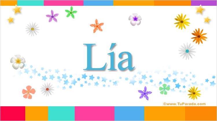 Lía, imagen de Lía