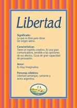 Nombre Libertad