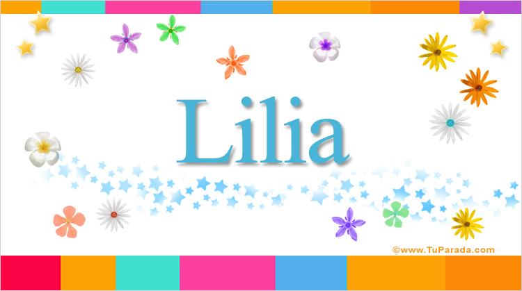 Lilia, imagen de Lilia