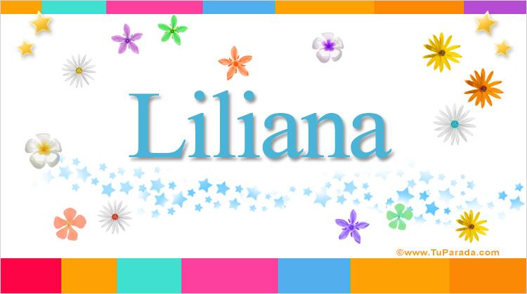 Liliana, imagen de Liliana
