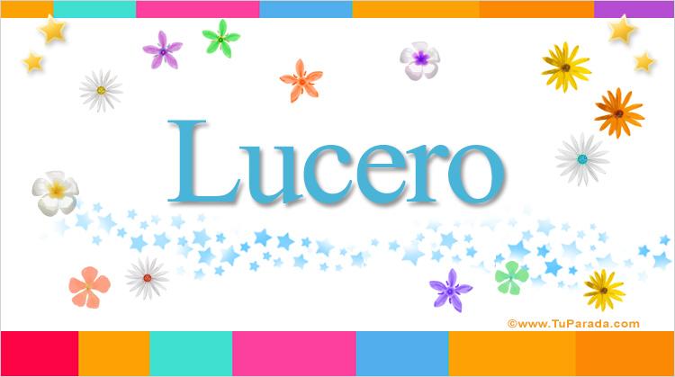 Lucero, imagen de Lucero