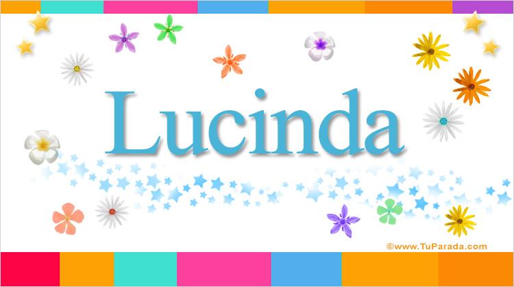 Lucinda, imagen de Lucinda
