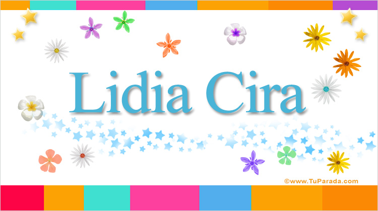 Lidia Cira, imagen de Lidia Cira
