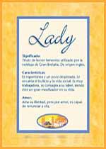 Nombre Lady