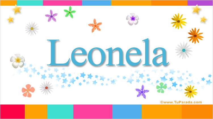 Leonela, imagen de Leonela