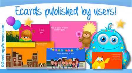 Published ecards