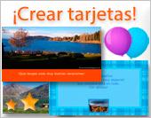 Tarjetas postales: Crear tarjeta