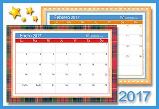 Calendario Deco 2017