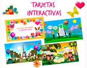 Tarjetas, postales: Tarjetas interactivas