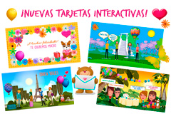 Ecards interactivas