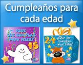Tarjetas postales: Cumpleaños para cada edad