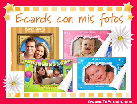 Ecards con mis fotos