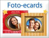 Tarjetas, postales: Foto-ecards