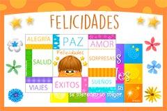 Tarjetas de Felicidades