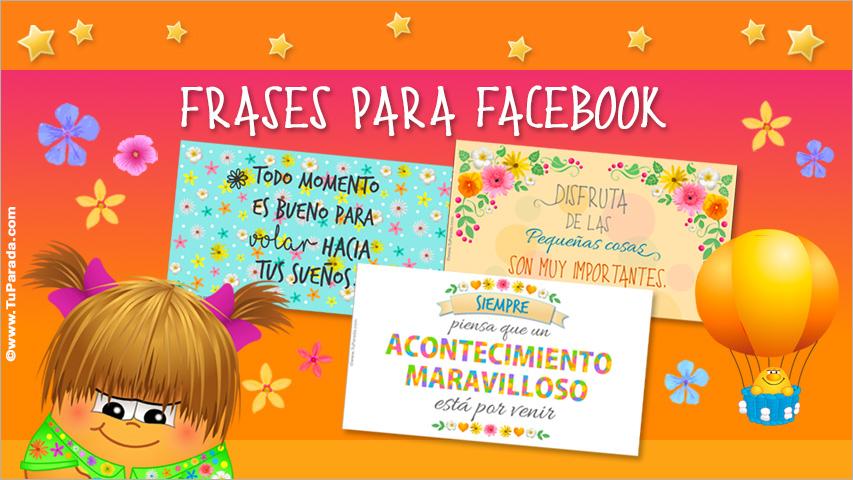 Tarjetas de Frases para Facebook