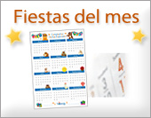 Tarjetas postales: Fiestas del mes