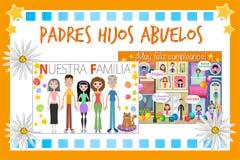 Felicitaciones de Padres, hijos y abuelos
