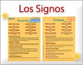 Tarjetas, postales: Signos del zodíaco