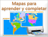 Tarjetas postales: Mapas