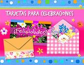 Tarjetas, postales: Celebraciones