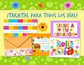 Tarjetas, postales: Todos los días