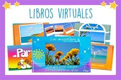 Tarjetas de Libros virtuales animados