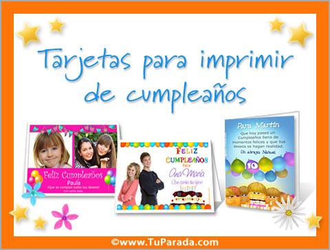 great quality san francisco huge selection of Tarjetas Cumpleaños Varon Para Imprimir