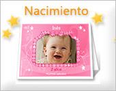 Tarjetas de nacimiento para imprimir