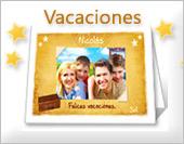 Tarjetas con fotos de vacaciones