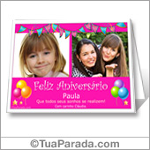 Cartões postais: Aniversário