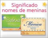 Cartões postais: Nomes femininos