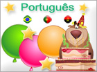Greeting ecards: Português