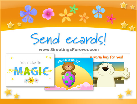 April holidays ecards