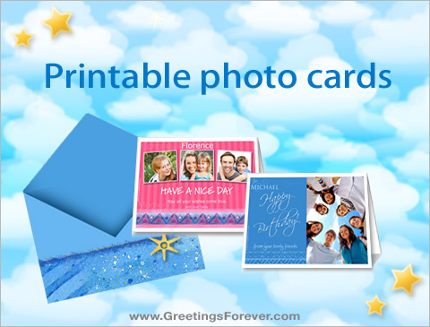 Ecards  Printable photo cards