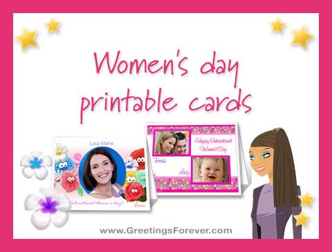 Ecards  Women's day