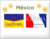 Tarjetas postales: Equipos mexicanos