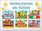 Tarjetas de Fútbol, selecciones