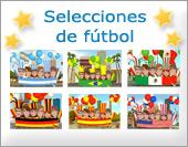 Tarjetas postales: Fútbol, selecciones