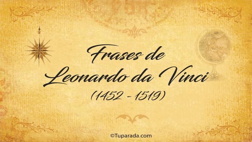 Frases de Leonardo da Vinci