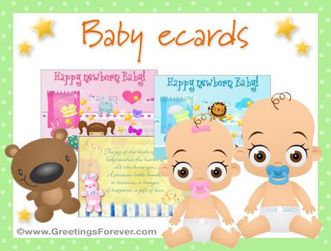 Tarjetas de Baby