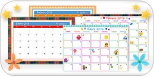 Calendarios interactivos.