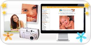 Your photo album and favorite ecards.