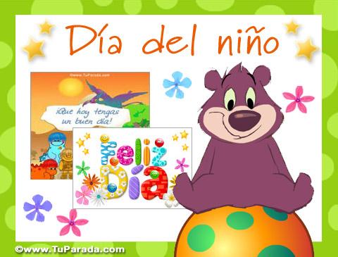 Tarjetas de Día del niño